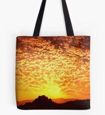 Northern Nevada Sunrise Tote Bag