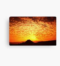Northern Nevada Sunrise Canvas Print