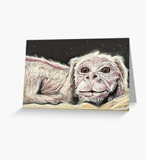 Falkor the Luck Dragon. Greeting Card