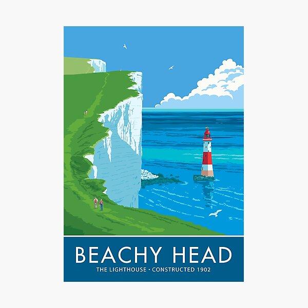 Beach Head Lighthouse Photographic Print