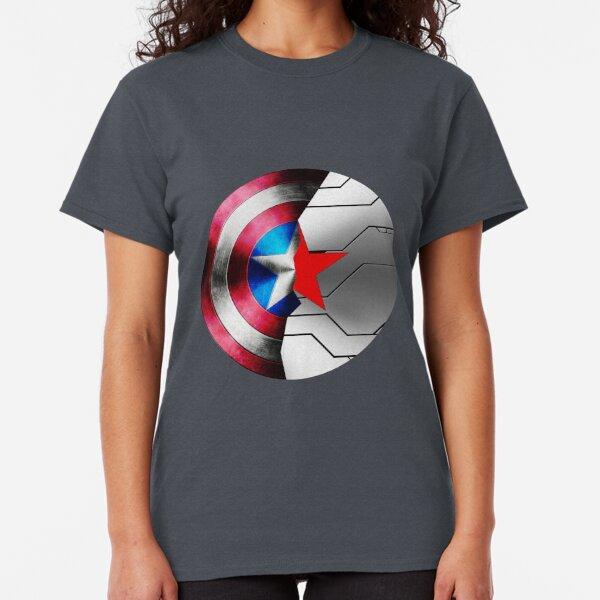 Civil War Team Tony Red Adult T-Shirt