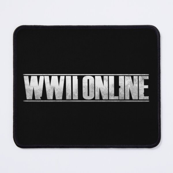WWII Online - Official Logo Mouse Pad