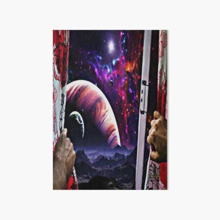Window to the universe Art Board Print