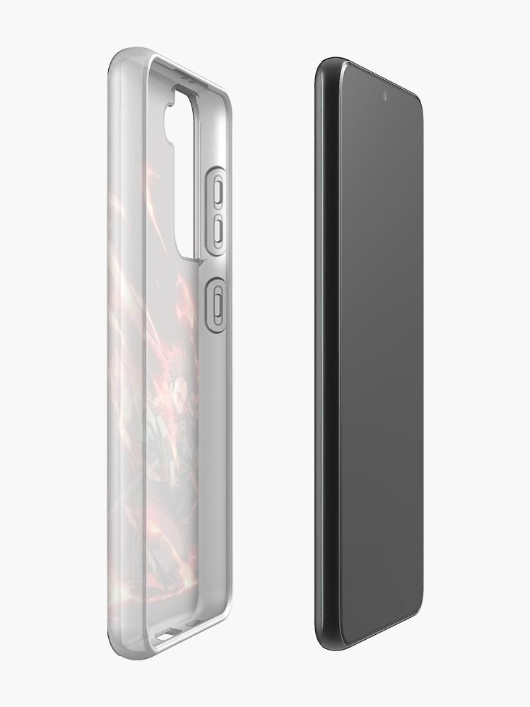 Alternate view of Demon Slayer, Kimetsu no yaiba - 17 Case & Skin for Samsung Galaxy