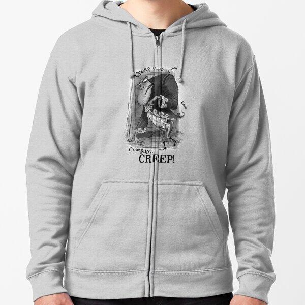 Creepity Creep! Zipped Hoodie