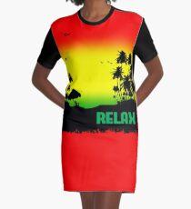 Rasta Relax Graphic T-Shirt Dress