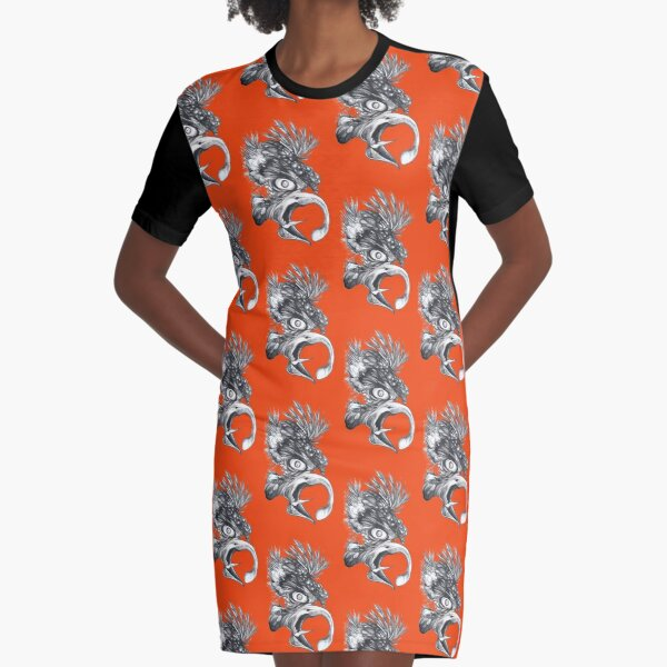Bird of prey Graphic T-Shirt Dress