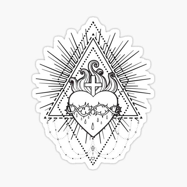 Sacred Heart of Jesus Sticker