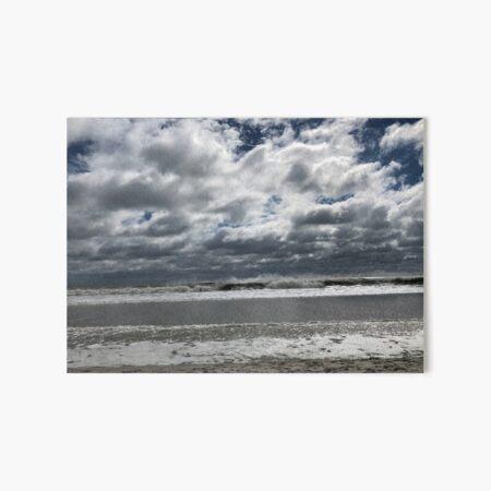 Rough Seas of a Passing Hurricane Art Board Print