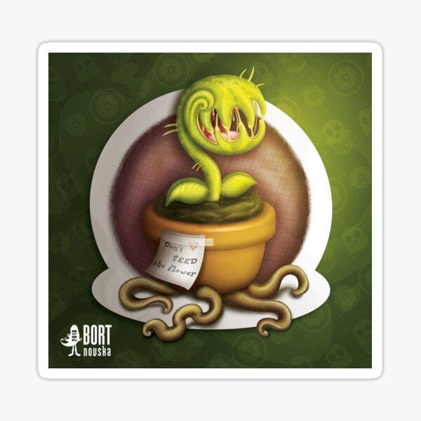 Evil Flower Sticker