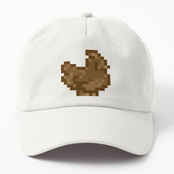 Cute Stardew Valley Chocolate Ice Cream Chicken with Waffle Cone Dad Hat