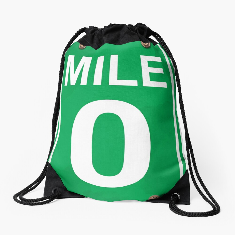 Mile Zero Drawstring Bag