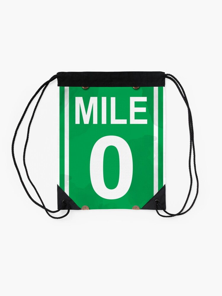 Alternate view of Mile Zero Drawstring Bag