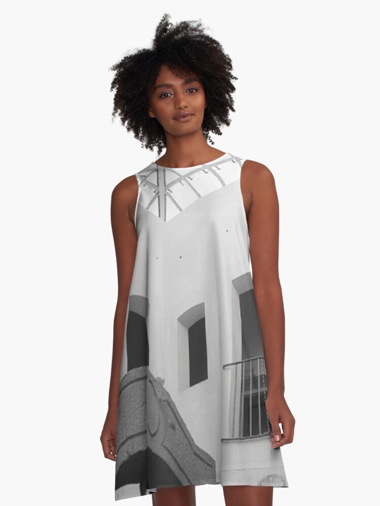 Casa de Cultura A-Line Dress Front