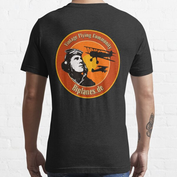 Biplanes.de Community Aviation Label Essential T-Shirt