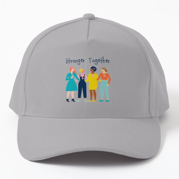 Cancer Support -Women Supporting Each Other -Stronger Together  Baseball Cap