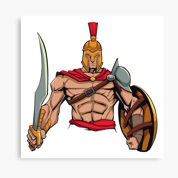 warrior 2 Canvas Print