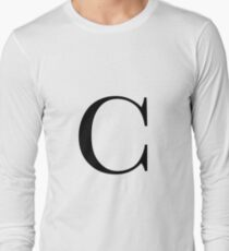 The Letter 'C' Long Sleeve T-Shirt