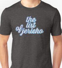 the list of jericho Unisex T-Shirt