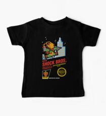 Super Shock Bros Baby Tee