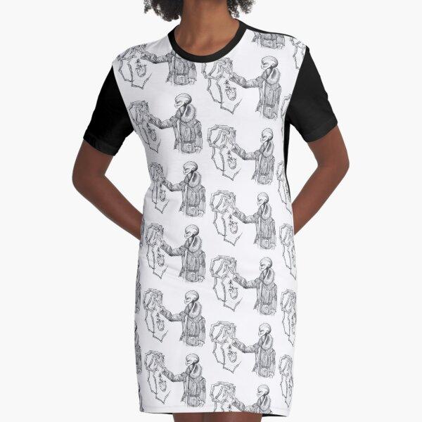 Avarice Graphic T-Shirt Dress