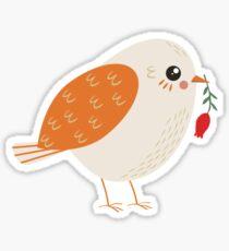 Autumn Bird Sticker