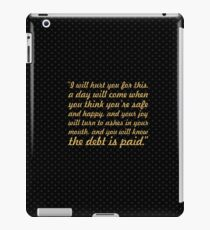 """I will hurt... """"Tyrion Lannister"""" Inspirational Quote iPad Case/Skin"""