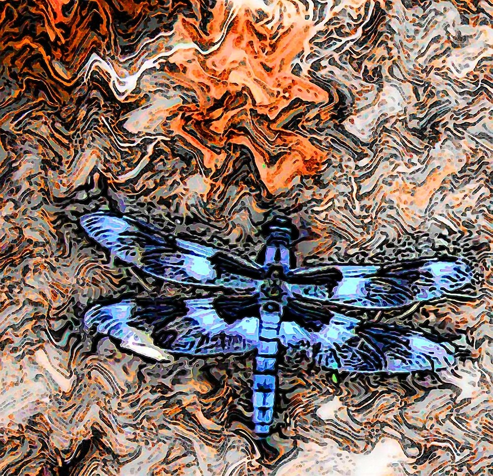 Dragonfly by blacknight