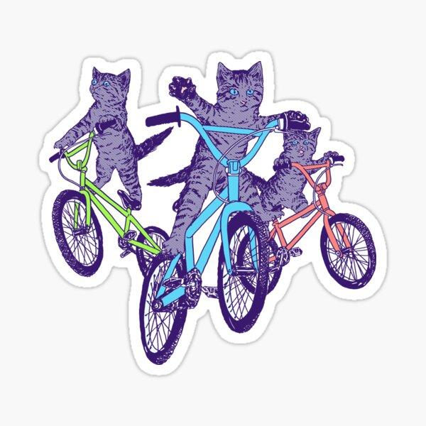 BMX Kittens Sticker