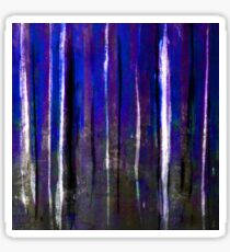 abstract  blue stripes Sticker