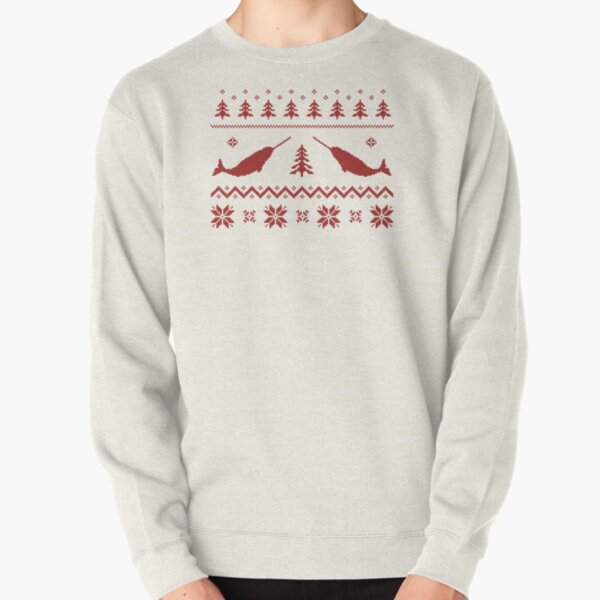 Ugly Narwhal Christmas Sweater Pullover Sweatshirt