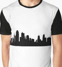 Kansas city skyline Graphic T-Shirt