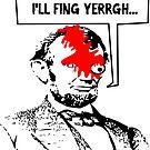 Popular Television Show Humor- Abraham Lincoln vs. Negan by tommytidalwave