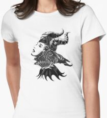 Malificent Tribute Women's Fitted T-Shirt