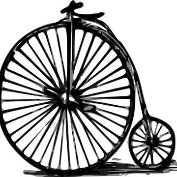Velocipede, Penny-farthing, bicycle by pponsv