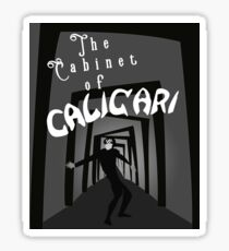 The Cabinet of Dr. Caligari Sticker