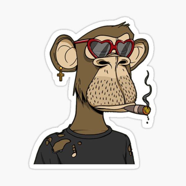 Bored Ape Yacht Club #9882 Sticker