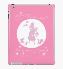 Once Upon a Dream (Make it Pink!) iPad Case/Skin