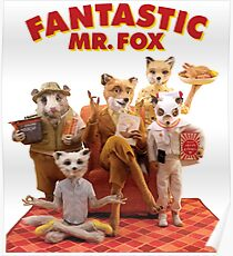 Fantastic Mr. Fox Family Poster