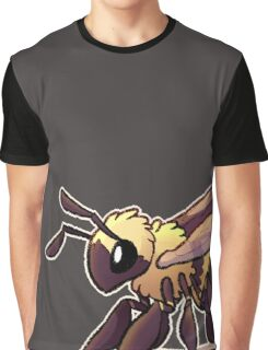 Cute Bee Graphic T-Shirt