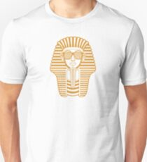 King Tut Egypt Pharaoh Shutter Shades Unisex T-Shirt