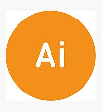 Adobe CC Illustrator Circles Photographic Print