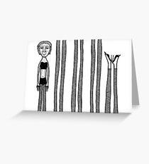 Endless legs Greeting Card