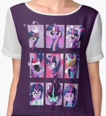 Forms of Twilight Sparkle Chiffon Top