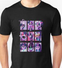 Forms of Twilight Sparkle Unisex T-Shirt