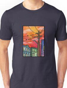 Sunset in Krakow Unisex T-Shirt