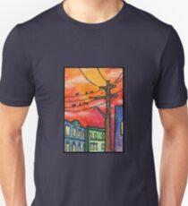 Sunset in Krakow T-Shirt