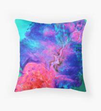 Hazardous colors Throw Pillow