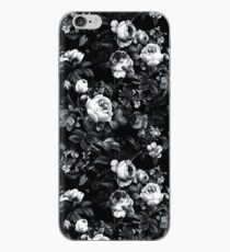 Roses Black and White iPhone Case