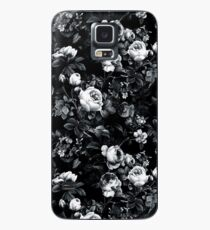 Roses Black and White Case/Skin for Samsung Galaxy